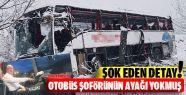 Sinop'ta Kaza Yapan Otobüs Şoförünün...