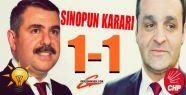 Sinop'ta seçim sonuçları belli oldu