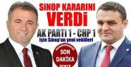 Sinop'ta Sonuç: 1 – 1