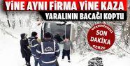 Sinop'ta yolcu otobüsü uçuruma yuvarlandı
