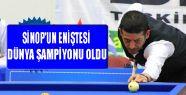 Sinop'un Eniştesi Dünya Şampiyonu