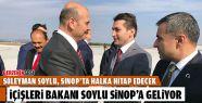 Süleyman Soylu Sinop'a Geliyor