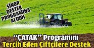 Tarım arazisini koruyan çiftçiye destek