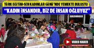 Türk Eğitim-Sen 8 Mart'ı Yemekle Kutladı