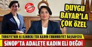 Türkiye'nin Tek Kadın İl Cumhuriyet Başsavcısı...