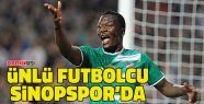 Ünlü Futbolcu Sinopspor'la Sözleşme...