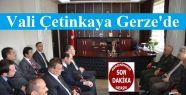 Vali Çetinkaya Gerze'de