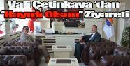 Vali Çetinkaya'dan Sinop Üniversitesi Rektörü Prof. Dr. Nihat Dalgın'a Hayırlı Olsun Ziyareti