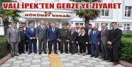 Vali İpek'ten Gerze'yi Ziyaret Etti