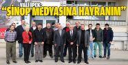 Vali İpek'ten Sinoplu Gazetecilere Ziyaret
