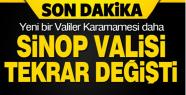 Valiler Kararnamesi ile Sinop Valisi tekrar...
