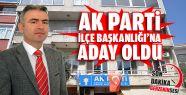 Vedat Özdemir Ak Parti Gerze İlçe Başkanlığı'na...