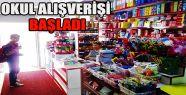 Velilerin Alışveriş Telaşı Başladı