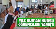 Yaz Kur'an Kursu Öğrencileri Yarıştı
