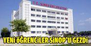 Yeni Öğrenciler Sinop'a Alıştırılıyor