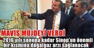 Yıl Sonuna Kadar Sinop'a Doğalgaz Geliyor