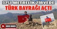Zirvede 'Türk Bayrağı' Açtı