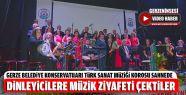 Dinleyicilere Türk Sanat Müziği Ziyafeti...
