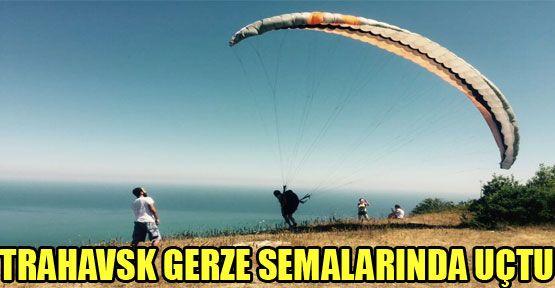 Trabzonlu Havacılar Gerze Semalarında Uçtu