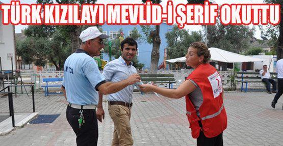 Türk Kızılayı Mevlit Okuttu