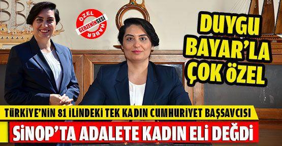 Türkiye'nin Tek Kadın İl Cumhuriyet Başsavcısı Sinop'ta