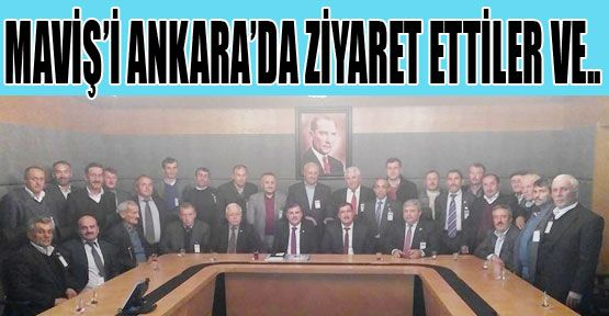 Türkmen ve Ekibi Ankara'da