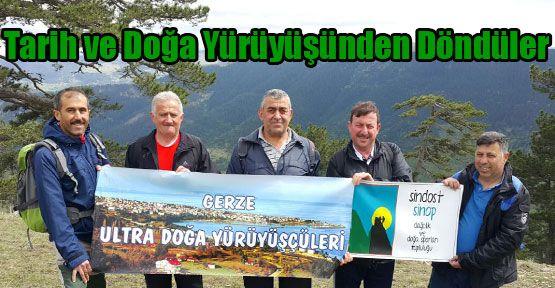 Ultra Doğa Yürüyüşçüleri Antalya'dan Döndü