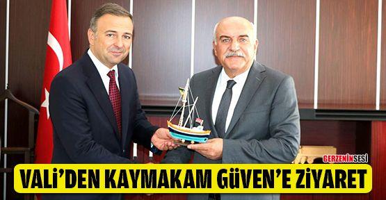Vali İpek'ten Gerze Kaymakamı Güven'e Ziyaret