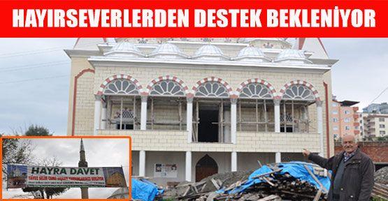 Yavuz Selim Camii İnşaatı Yardım Bekliyor
