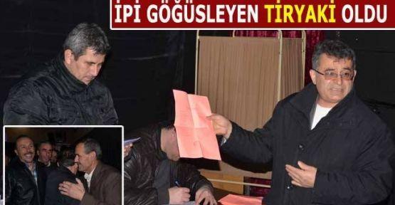 Yeni Başkan Ahmet Tiryaki