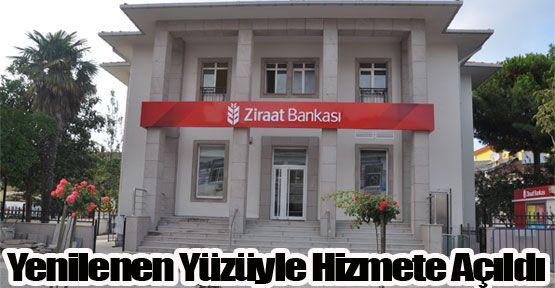 Ziraat Bankası Yenilenen Binasıyla Hizmete Açıldı
