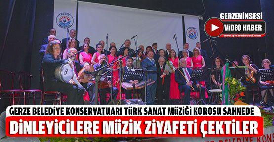 Dinleyicilere Türk Sanat Müziği Ziyafeti Çektiler